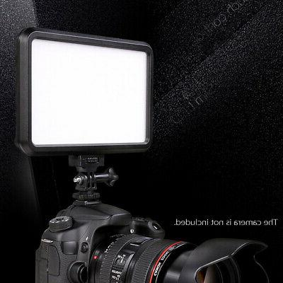 PT-12B Video Fill-in Light Panel for Canon Nikon Cameras