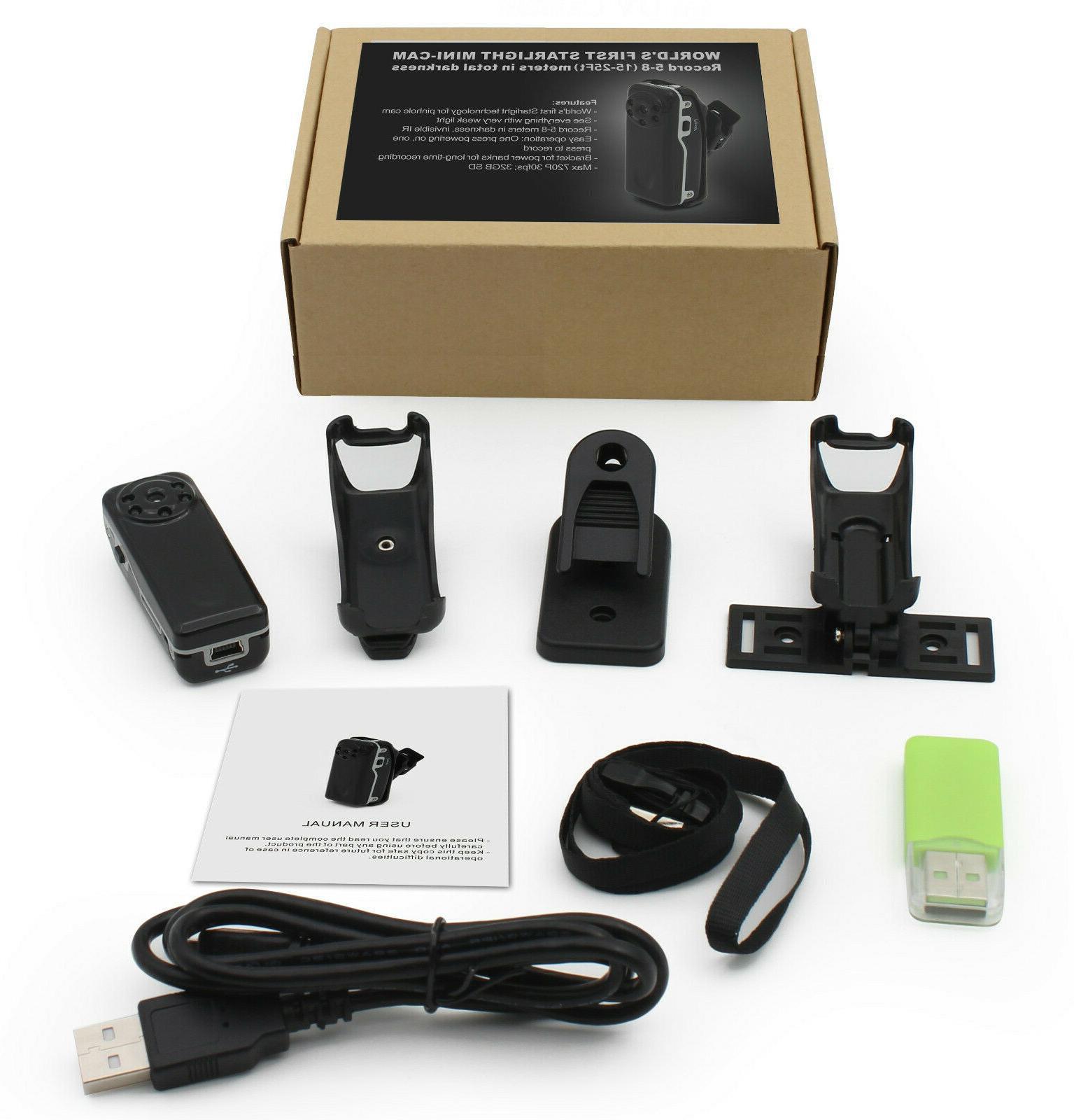 Micro Body Video Cam Night Vision