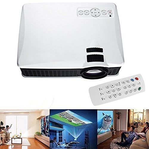 1500 Lumens Mini HD Video Projector 1080p, WEILIANTE