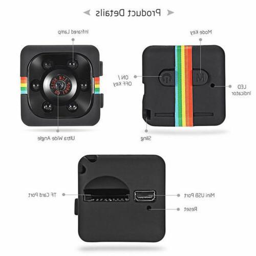 Mini SQ11 Full 1080P Hidden Recorder Camcorder Vision