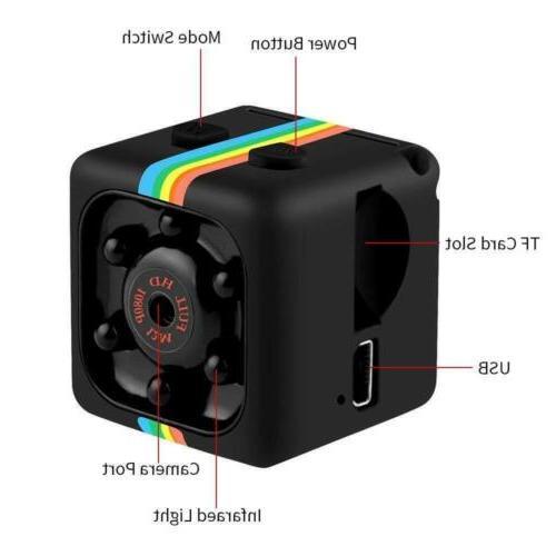 Mini 1080P Hidden Cameras Video Recorder Camcorder IR Vision