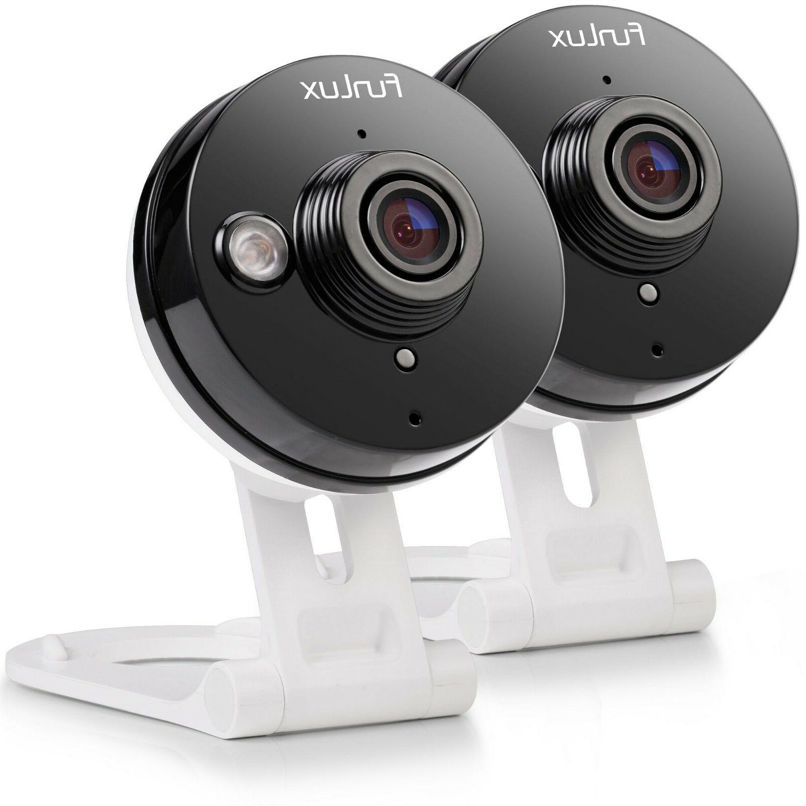 Funlux® Mini 720P HD Wireless IP IR Home Security Camera  W