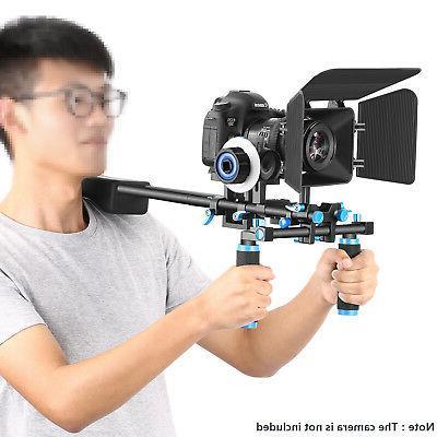 Neewer Movie Video Making System Kit Shoulder Rig Follow Foc