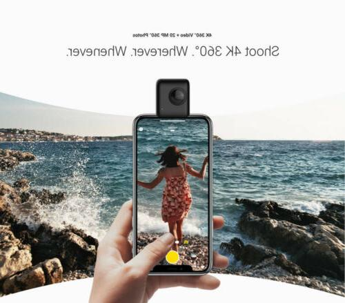 Insta360 Nano Video Camera 360° Cam fit for iPhone X 8 7 6