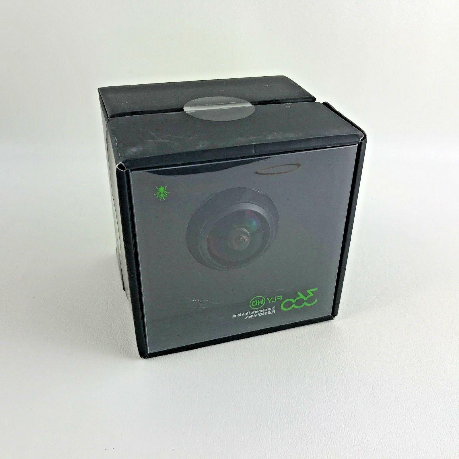 NEW 360Fly Degree HD Video - Black Gen 360FLYBLK