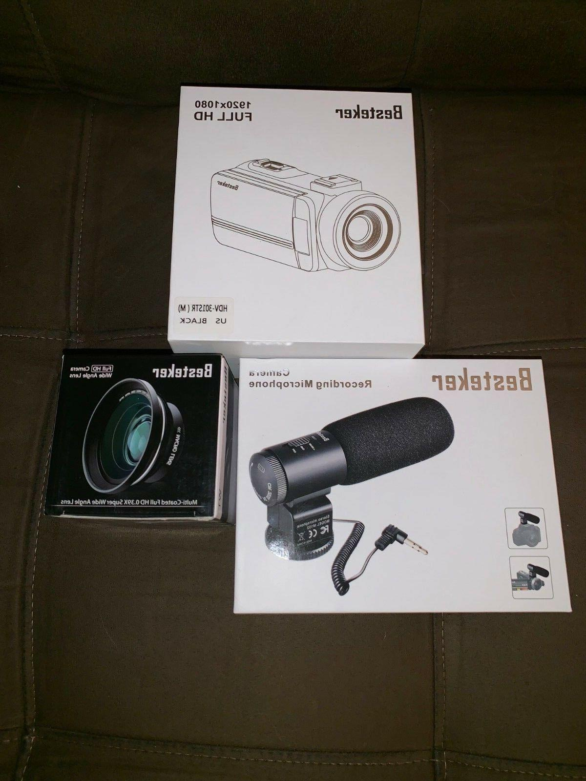 night vision camcorder full hd portable video