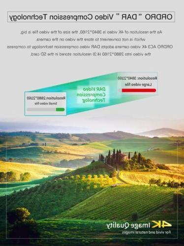 Ordro AC3 4K Ultra HD Camera(1080P Digital