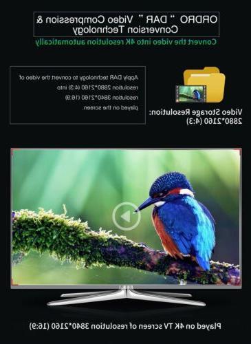 Ordro AC3 Ultra Camera(1080P 60FPS,30X Digital Zoom,