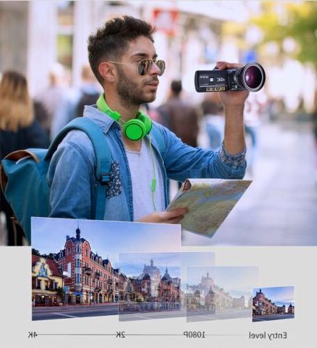 Ordro AC3 Camcorder Ultra Camera(1080P 60FPS,30X