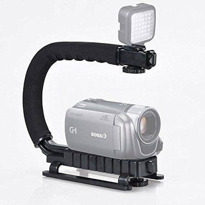 Pro Stabilizer Bracket Video Handheld Fit DSLR Camcorder