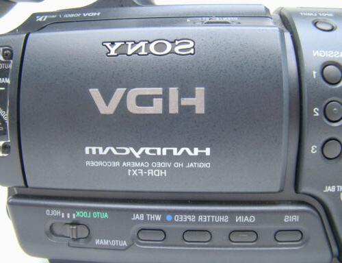 Sony Professional HDR-FX1 Digital HD Camcorder