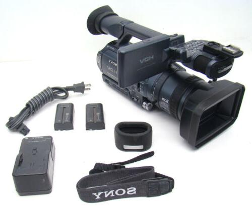 professional hdr fx1 digital hd video camera