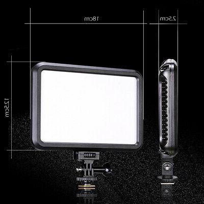 PT-12B LED Camcorder Fill-in Canon Nikon Sony Cameras
