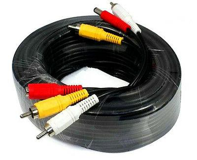 security camera cable video audio power 65