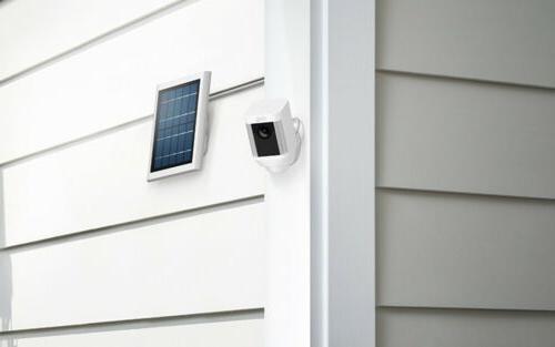 Ring Surveillance Spotlight Cam Solar Wireless Battery