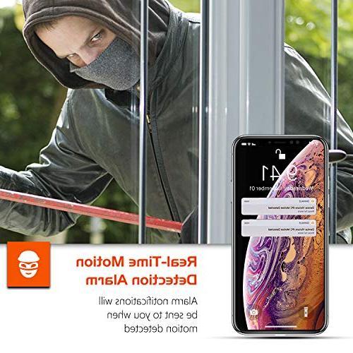 Security Camera WiFi IP Camera - KAMTRON HD