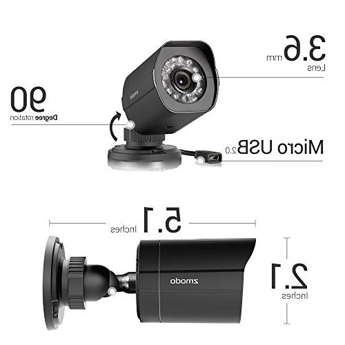 Zmodo Full HD 8 Security Channel Drive