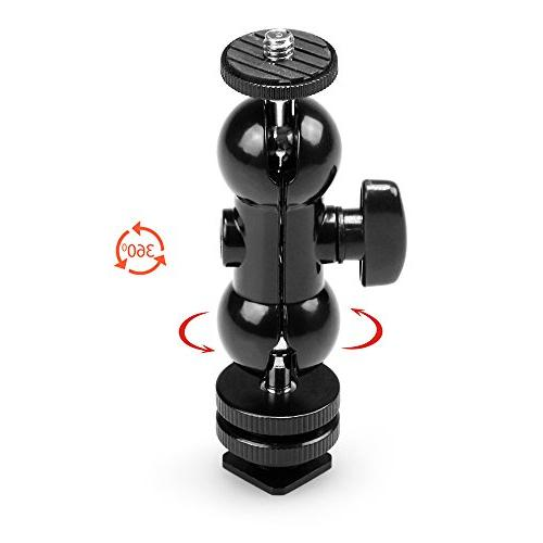 """SmallRig Cool Double Mount 1/4"""" Screw for Led -"""