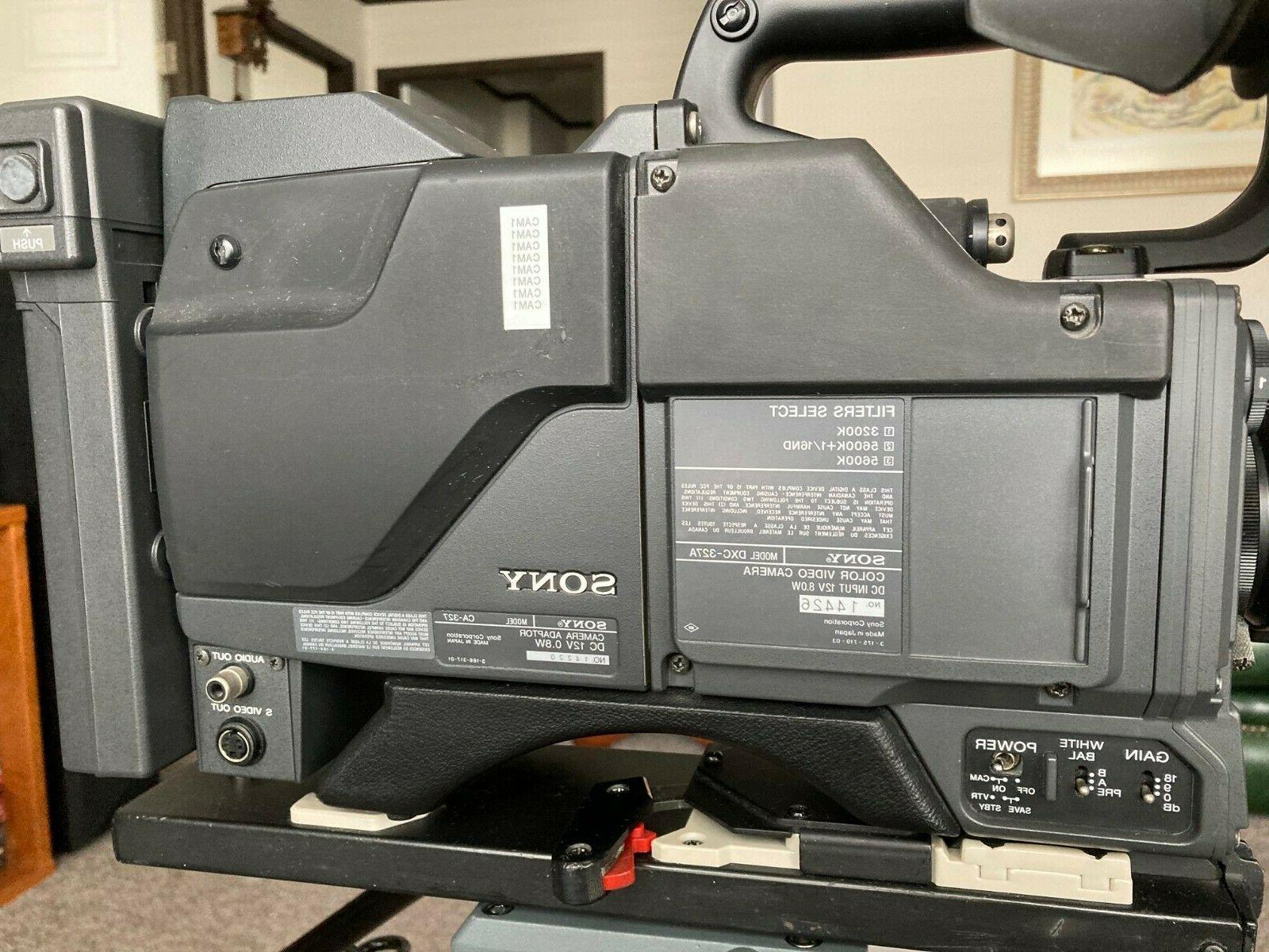 SONYdxc-327a color camera adptor lens
