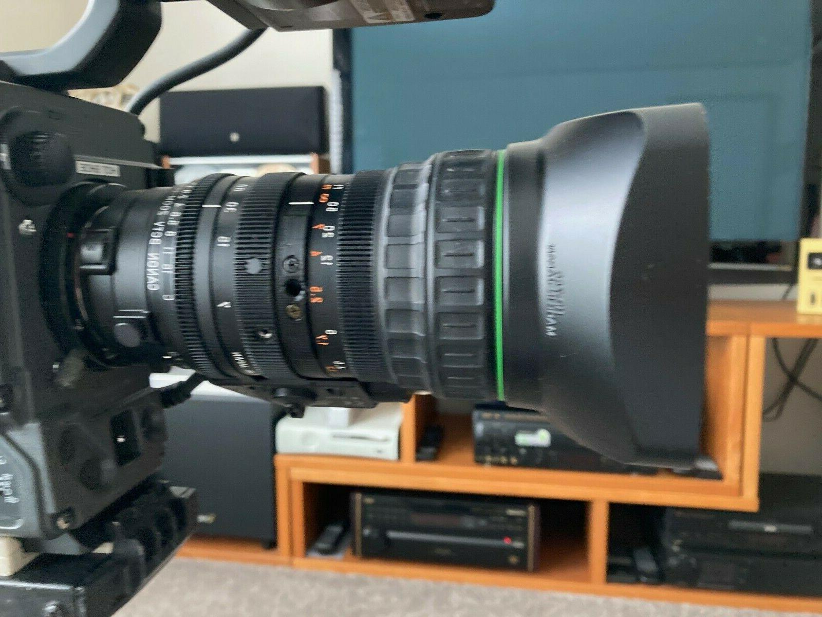 SONYdxc-327a video lens