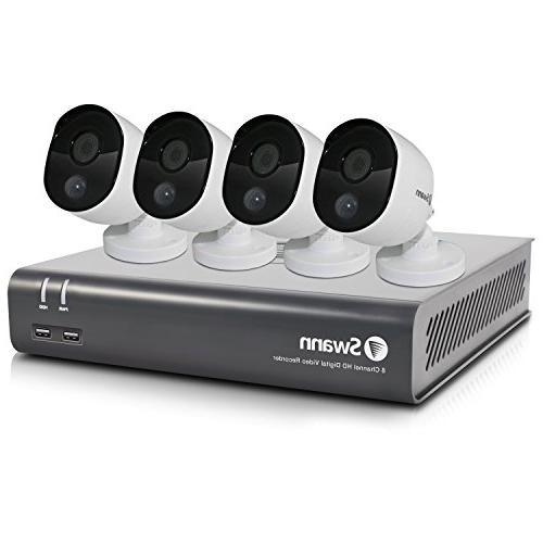 Swann Full Surveillance Channel 1TB DVR, White