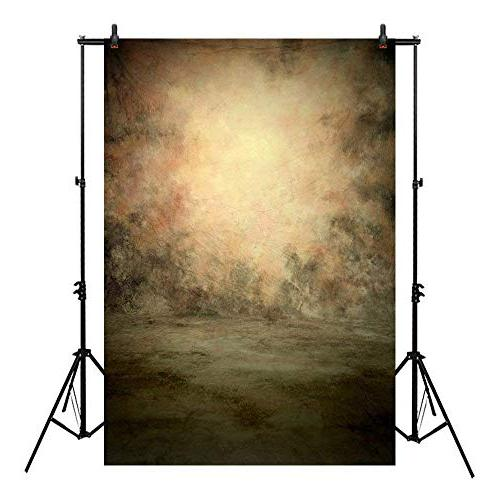 Professional Texture Photography Backdrop Allenjoy Old Yellow Oil-Painting Pattern Backdrops Photography Decoration
