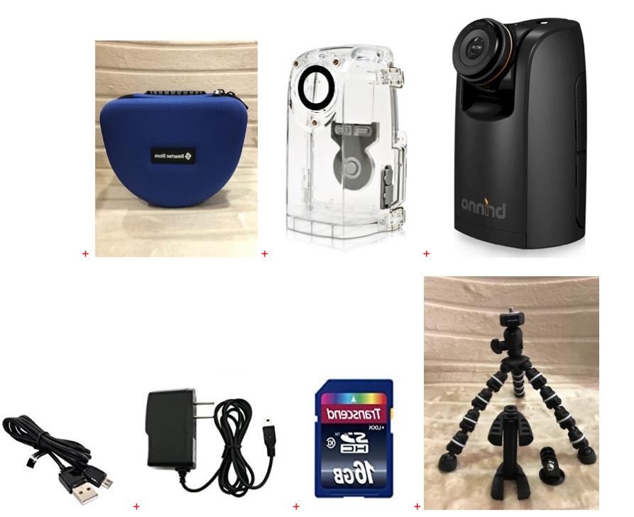 Brinno TLC200PRO HDR Time Lapse Cam+ATH120+Smartec Cam Bag+S