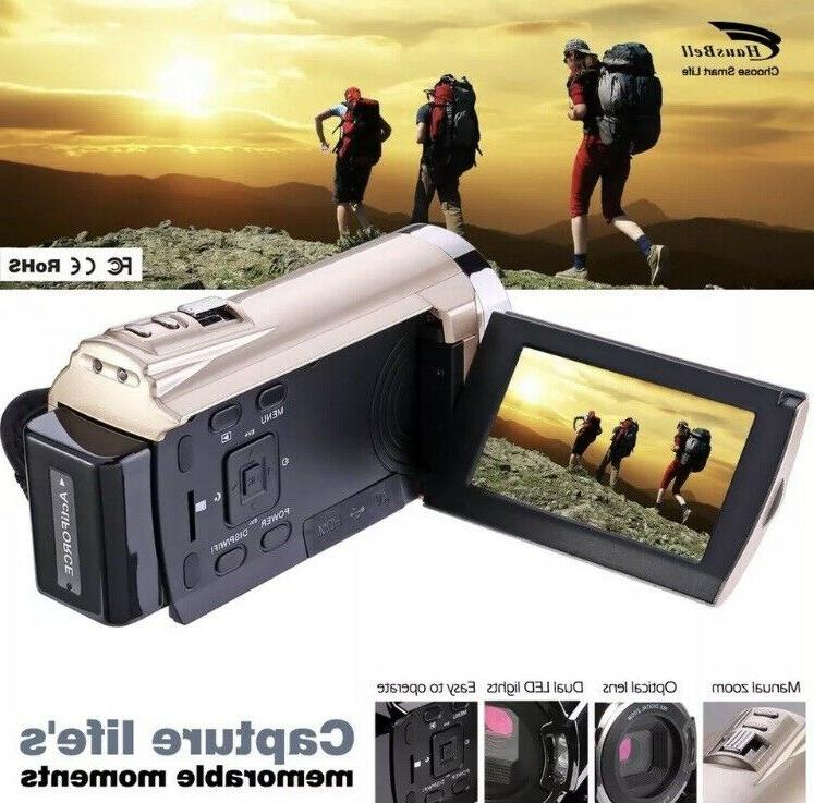 Hausbell Video Camera 1920x1080p HDV5052