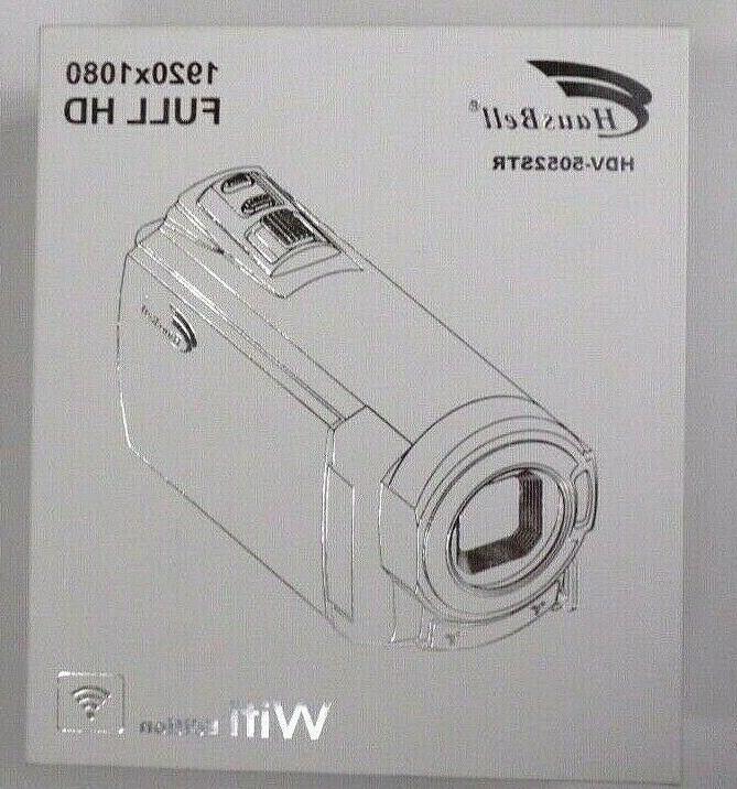 Hausbell Touch Screen Video Nightshot 1920x1080p HDV5052