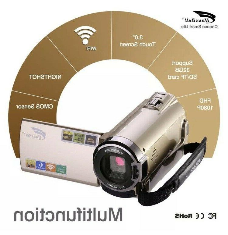 touch screen digital video camera infrared nightshot