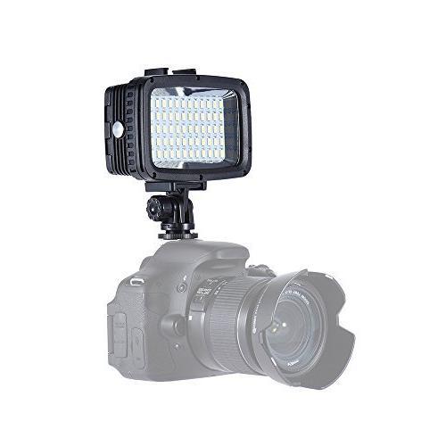Andoer 40m Underwater Video Light 12W LEDs Ultra for GoPro SJCAM Action for DSLR