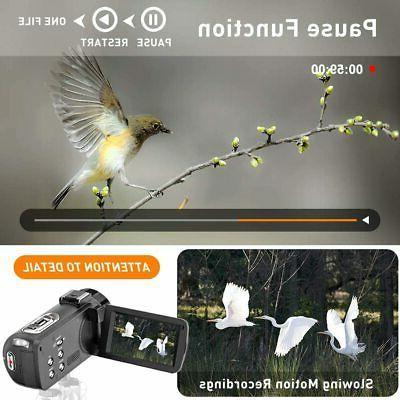 Video 2.7K Ultra HD 36MP Camera YouTube IR Night
