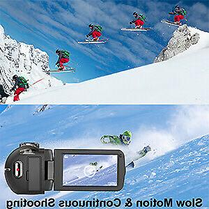 Video 2.7K Ultra 36MP Camera for YouTube IR Night