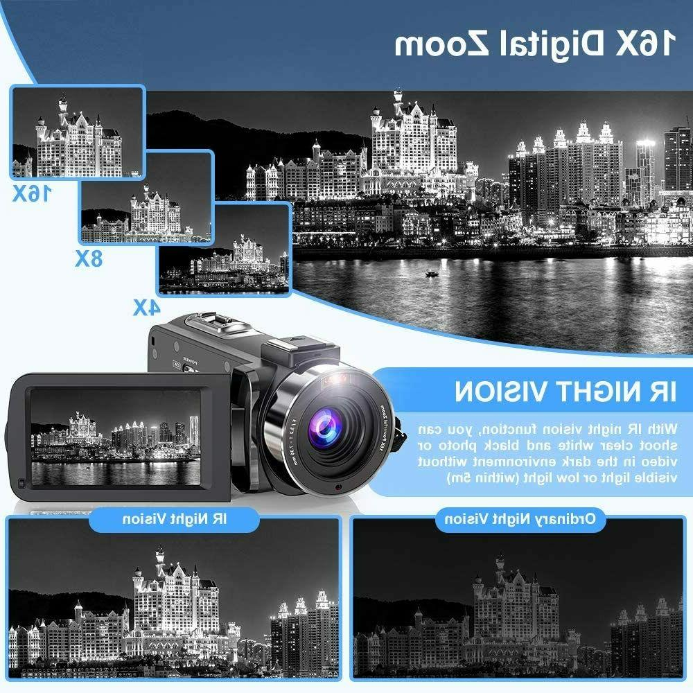 Video 2.7K Ultra Camera for Night
