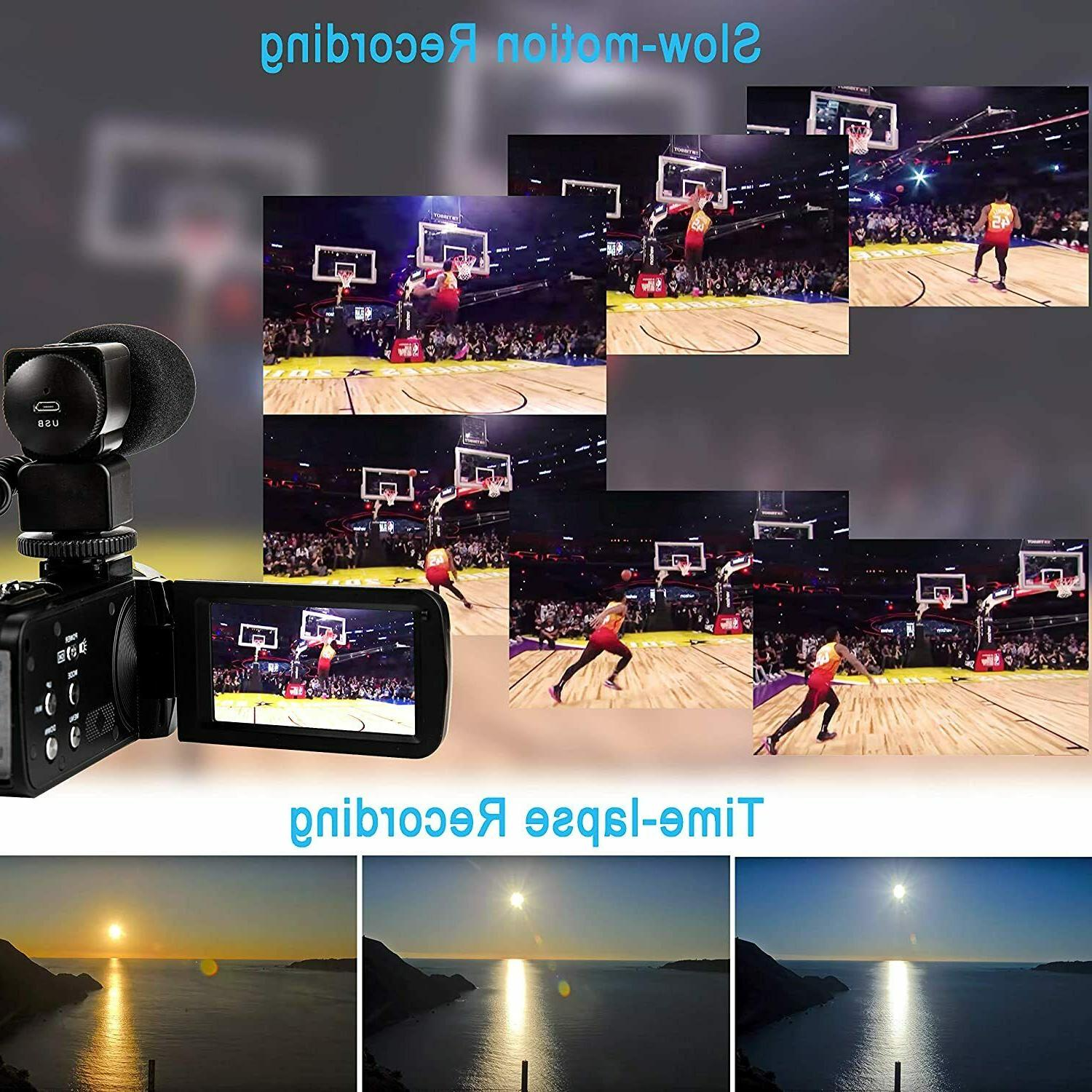 Video Ultra HD Vlogging Camera for YouTube,48MP