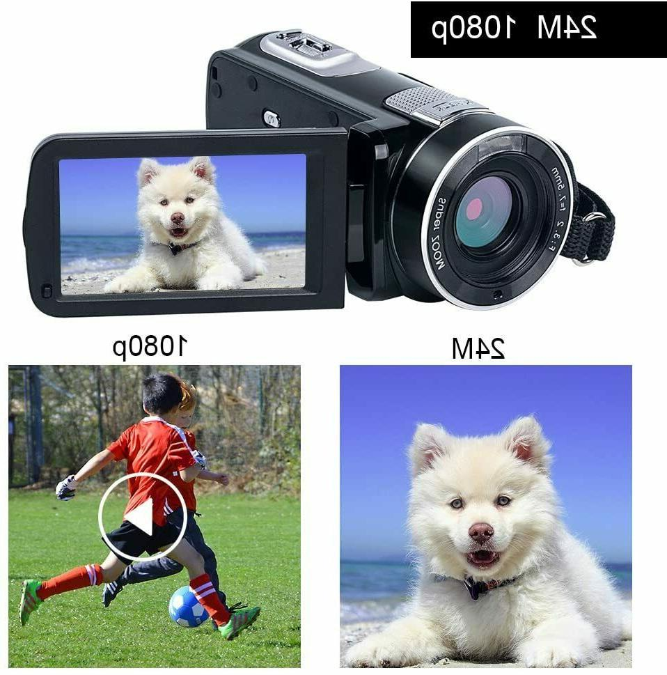 "Video 24.0MP 3"" LCD Screen 18X Zoom Vision"