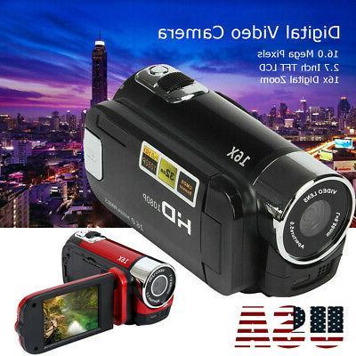 video camera camcorder 1080p full hd vlogging