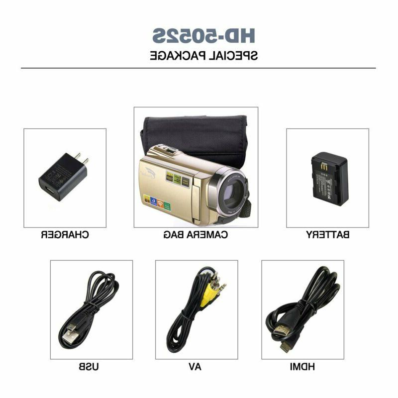 Digital Camcorder with