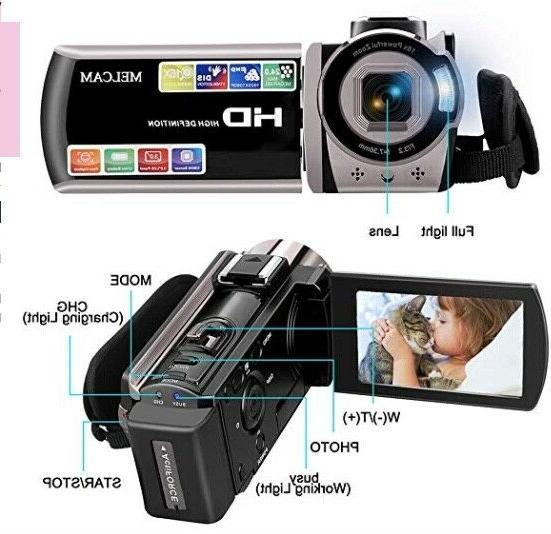 Video Camera HD 1080P 24.0MP, LCD 270 Screen