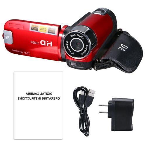 Video Camera Camcorder Vlogging Camera HD Digital Zoom USA