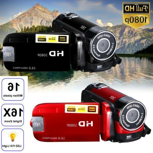 Video Camcorder Camera Full HD Digital Camera 16x USA