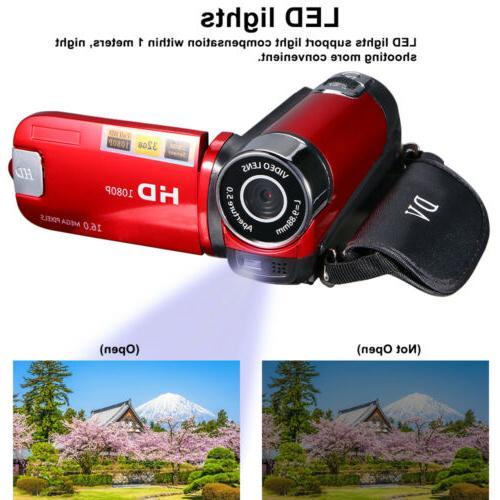 Video Camera Camera Full HD 1080P Digital USA