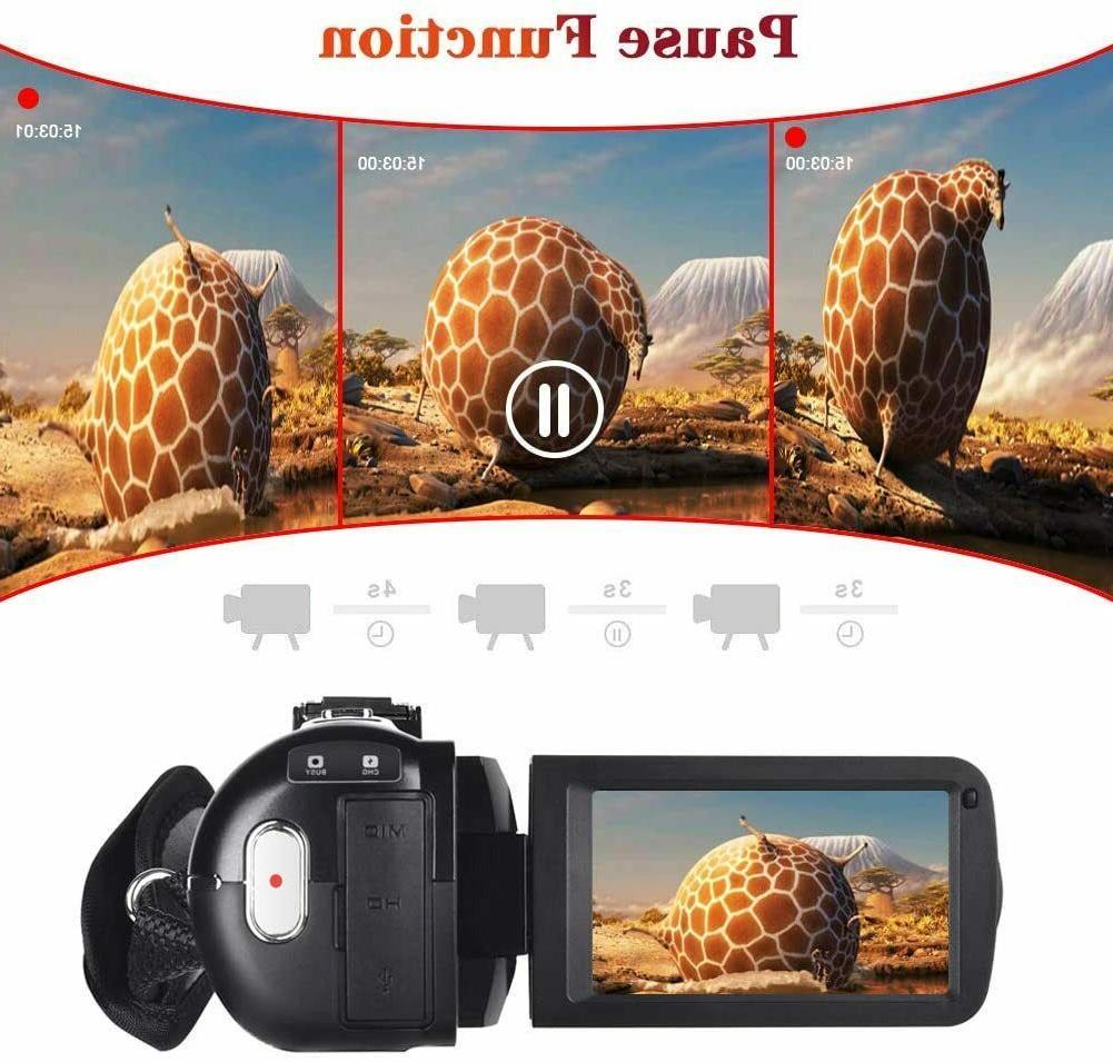 Video w/ Microphone YouTube Camera 2.7K Ultra