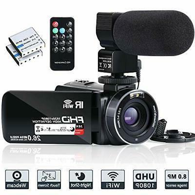 video camera camcorder wifi ir night vision