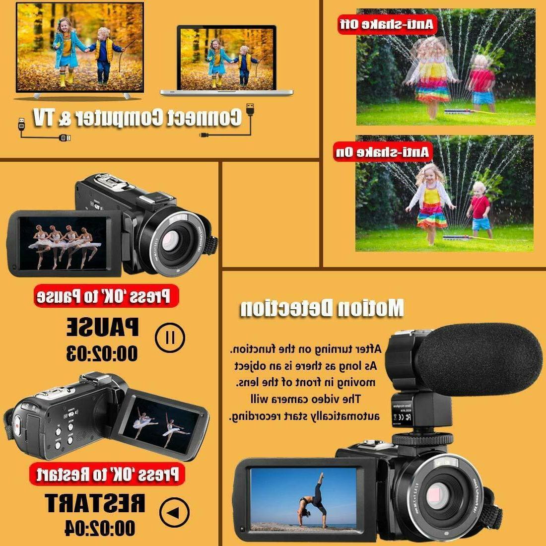 Video Ir Night 1080P 30Fps 26Mp Youtube Vloggin