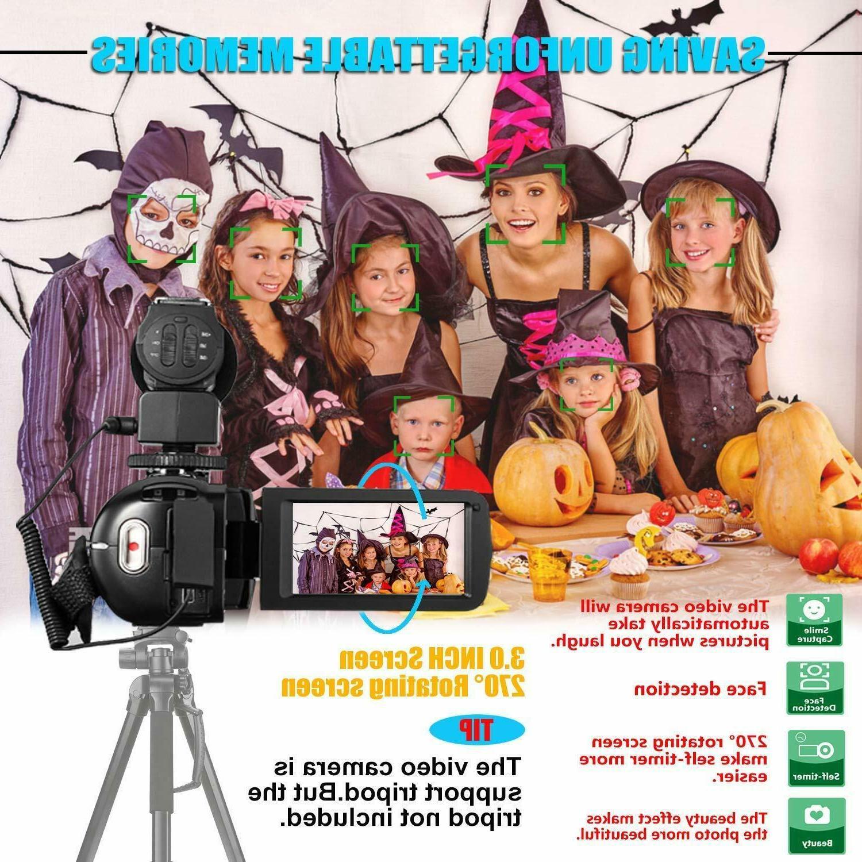 Video Camcorder Wifi Ir Night Vision Fhd Vloggin