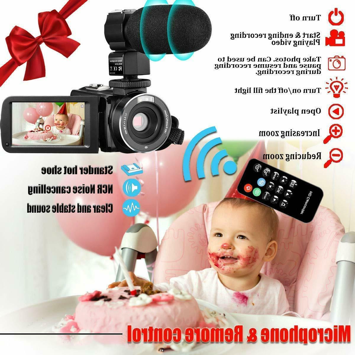 Video Wifi Ir Night 1080P Youtube Vloggin