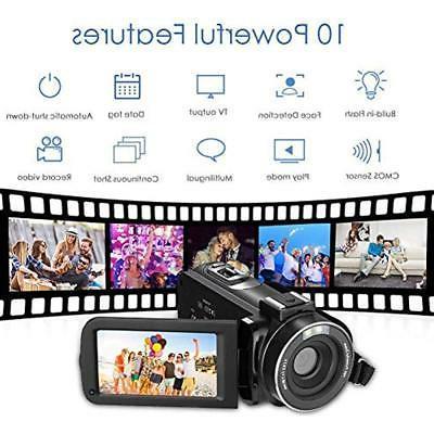 Video Camera 18X Digital Zoom