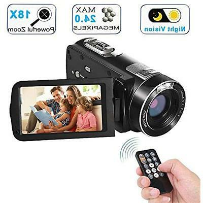 video camera camcorder with ir night vision