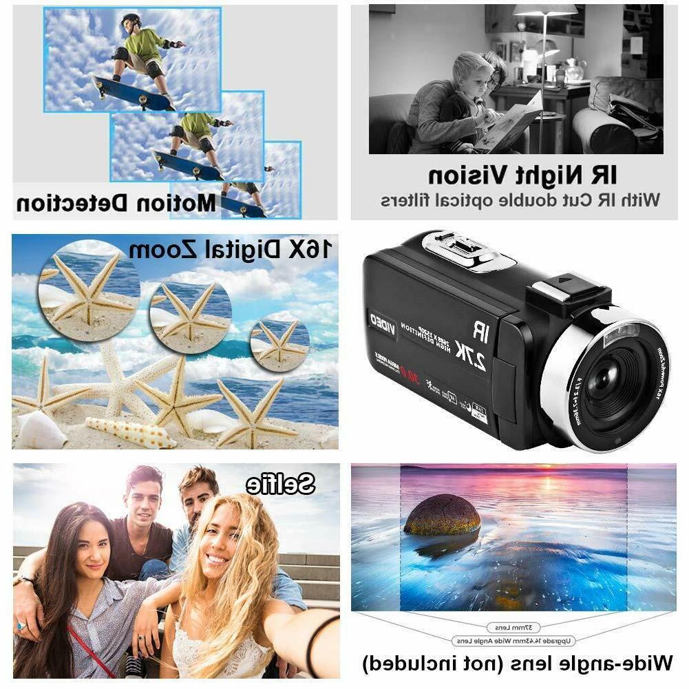 Video Microphone 30FPS Vlogging Camera wi...